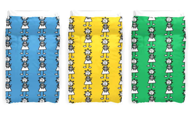 Duvet Covers available here.