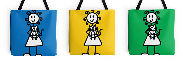 Tote Bags available here